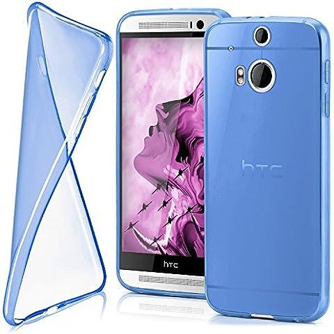 Funda protectora OneFlow para funda HTC One M8 / M8s Carcasa silicona TPU 0,7 mm   Accesorios cubierta protección móvil   Funda móvil paragolpes bolso traslúcida transparente en