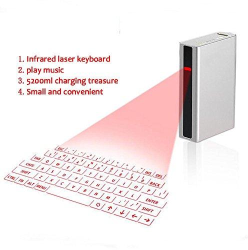 SHANGXIAN Bluetooth Virtual ProyeccióN Teclado La