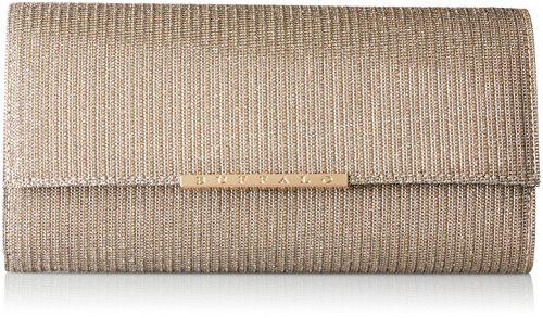 Buffalo Damen Bag Bwg-05 Glitter Clutch, Braun (Antique 03), 4x13x25 cm -