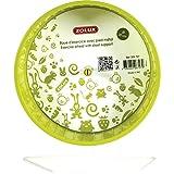 Zolux Ruota per Criceti con Piede in Metallo Color Anice Cm. 20 per Roditori