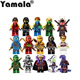Todwish Ninjago Minifigures Lot of 15