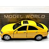 WE-BLINK Internet Llp Pull Back Die-Cast Yellow Roof Top Car