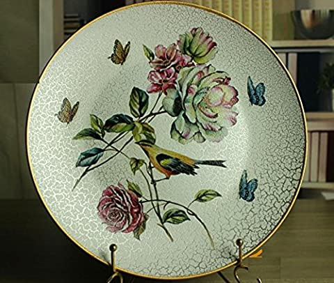 SU@DA Vintage europäisch anmutenden dekorative Wandteller/Mode/Felder/American Country Show/Keramik Geschenke , picture