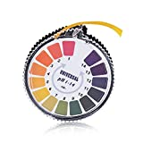 pH Indicator Litmus Test Paper Strip Roll, 1 - 14 For Water Urine And Saliva - 5 Meters