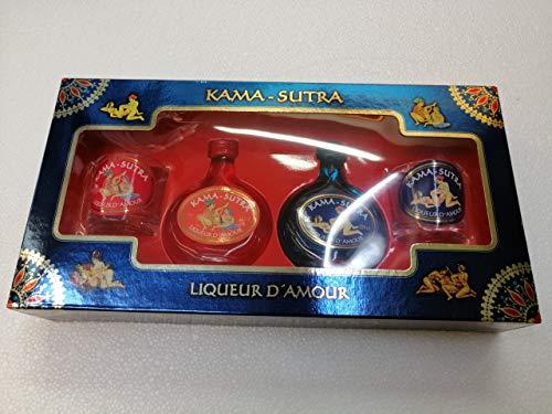 Licor Kama-Sutra cofre 2 botellitas 5cl 20{e7e9166dd022e6870582520aa2b46c692c830a7a45ce00f56f13e8171f1f18c4} Alcohol con 2 Vasitos