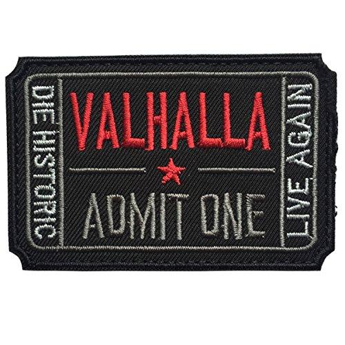 Spaceauto Ticket to Valhalla Admit One Die histórico