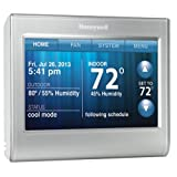 Honeywell Smart Thermostat, Wi-Fi, Touchscreen, Compatible with Alexa by Honeywell