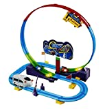 #2: Toyshine Automatic Train Tracker Set Battery Operated Train Track, 1 Train
