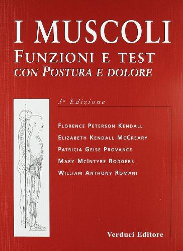 I muscoli. Funzioni e test con postura e dolore
