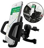 THEVERY® - Smartphonehalterung für Lüftungsauslässe - Armaturenbrett Handy Smartphone Auto Kfz PKW Befestigung Halterung Carholder