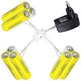 Batterieadapter Batterieersatz 3V für 3 Verbraucher mit je 3AAA Batterien