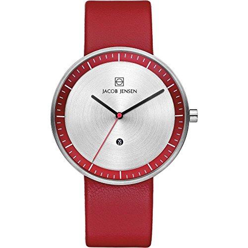 Jacob Jensen 'Strata' orologio uomo 273