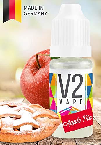 V2 Vape E-Liquid Apple Pie, 10ml