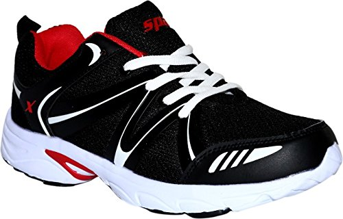 Sparx Men's Black And Red Running Shoes (sm-261)