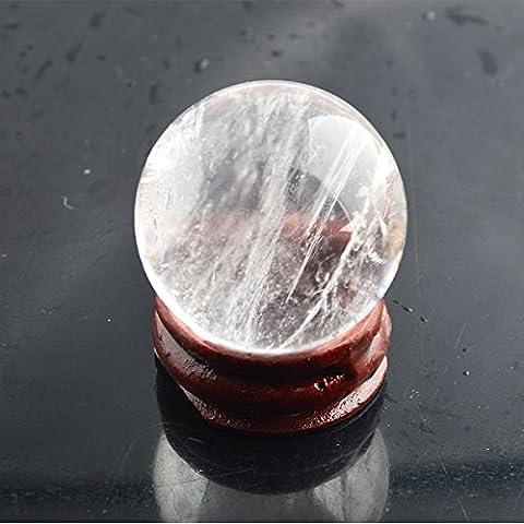 Naturale Cristallo di quarzo trasparente sfera a sfera 1,3