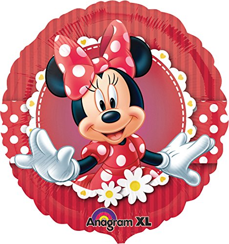 Folienballon * MINNIE MOUSE & DAISY * für Kindergeburtstag oder Motto-Party // Folien Ballon Party Helium Deko Ballongas Motto Kinder Geburtstag Disney Minnie Maus (Minnie Maus-folien Ballon)