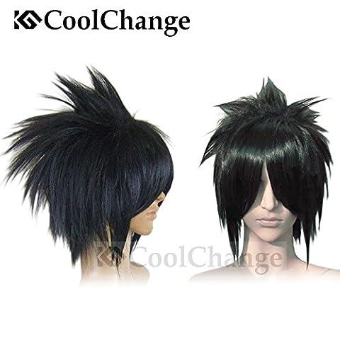 CoolChange perruque de Sasuke Uchiha de la série Naruto, marron