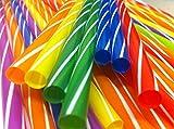 Rayandirect - Cannucce multicolore, 50 pezzi