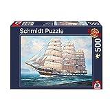 Schmidt Spiele Puzzle 58311 Segel gehisst, 500 Teile