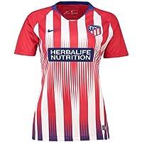 Nike 2018-2019 Atletico Madrid Home Ladies Football Soccer T-Shirt Trikot