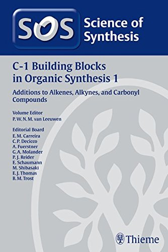 science-of-synthesis-c-1-building-blocks-in-organic-synthesis-vol-1-additions-to-alkenes-alkynes-and