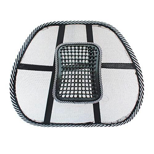 Chair Massage Back Lumbar Support Mesh Ventilate Cushion Pad Car Office Seat - Office Massage Chair