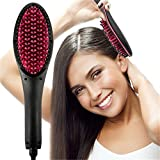 Best Défrisants céramique - Konnison Céramique défrisant pour Cheveux Brosse Rapide à Review