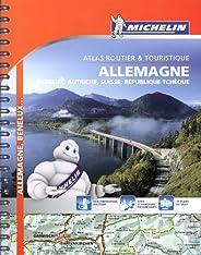 Atlas Allemagne, Benelux, Suisse, Autriche, Rép. tchèque Michelin