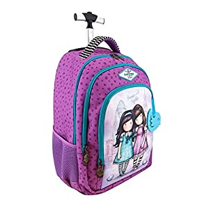 GORJUSS – Mochila Escolar Trolley Friends Walk Together – Varios Autores -5% En Libros