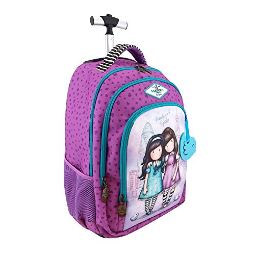 Mochila Escolar Trolley Gorjuss - Friends Walk Together