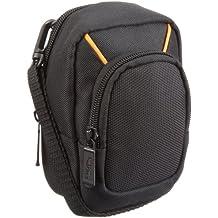 AmazonBasics - Funda para cámaras compactas (tamaño grande), color negro