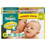 Pampers New Baby Gr. 2(Mini) Jumbo Pack 80Windeln