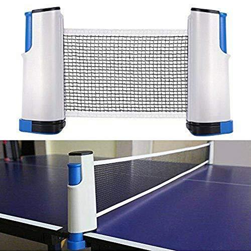 Wuudi Netz Ping Pong Ersatznetz, Einziehbares Tischtennisnetze Tischtennis Netze, Beweglicher Reisehalter