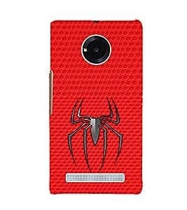 EPICCASE spider Mobile Back Case Cover For YU Yuphoria (Designer Case)