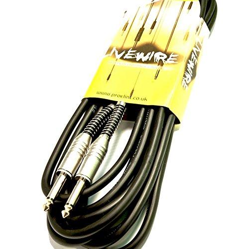 Livewire Kabel (Buchse auf Buchse, 6°m, PA Lautsprecher, Blei) (Instrument Kabel Live-wire)