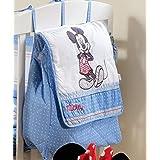 Fundas de almohada para cama diseño de la bandera de con mangas para bebé de color azul Diseño de mono y cambiador para pañales bolsa para raquetas de tenis