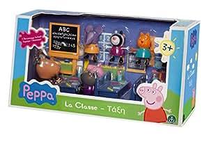 Giochi Preziosi 4962 Peppa Pig Gioco La Classe Di Peppa Set Con 7