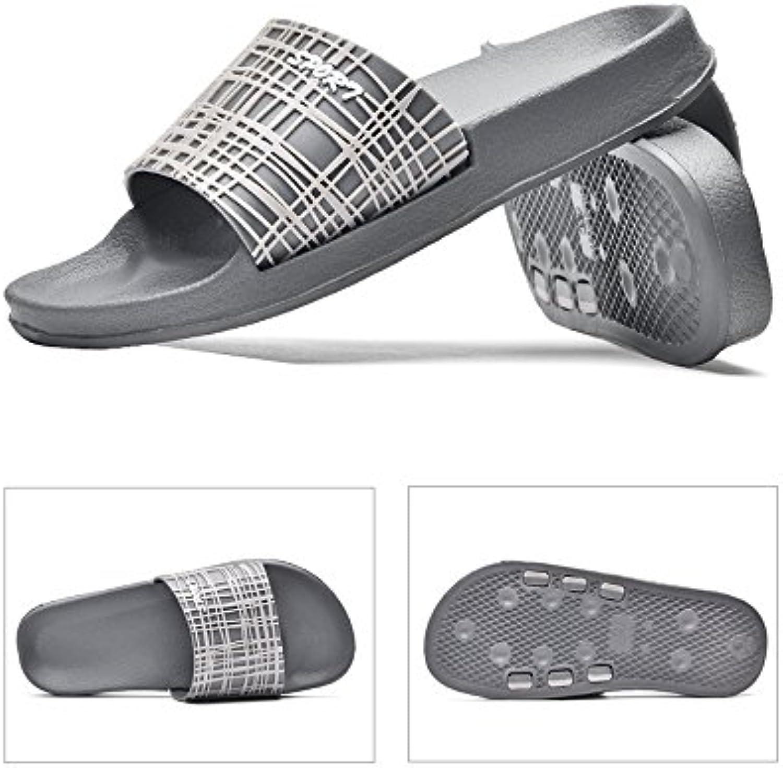 YQQ Zuhause Badezimmer Hausschuhe Männliche Schuhe Strandschuhe Sport Sandalen Lässige Schuhe Ferienschuhe Sommer