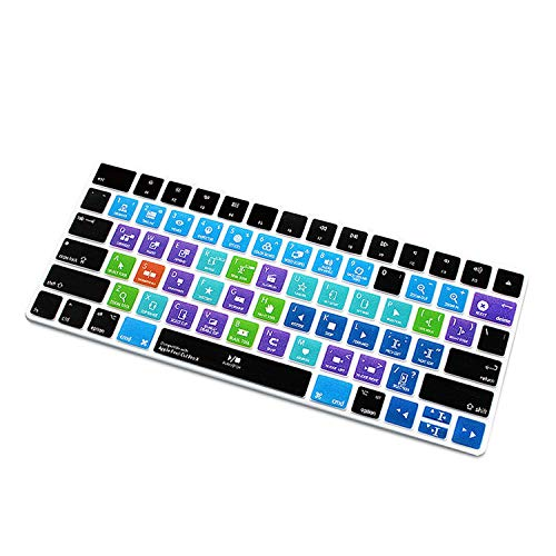 Für Ableton Live Avid Pro Tools Final Cut für Pro X Ps Hot Key Funktionale Tastatur-Abdeckung für Magic Keyboard Mla22b/A Us Final Cut Pro X