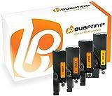 Bubprint 4 Toner kompatibel für Dell 593-BBLN 593-BBLL 593-BBLZ 593-BBLV für E525W Schwarz Cyan Magenta Gelb