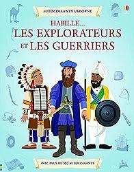 Habille... Les explorateurs et les guerriers - Autocollants Usborne