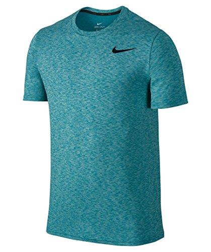 Nike M nK Brt SS HPR Dry T-Shirt, Homme blau_35