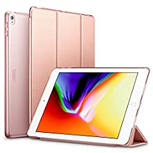 "ESR Yippee Trifold Smart Case for iPad Air 3/iPad Pro 10.5"" 2019, Auto Sleep/Wake Trifold Stand Case, Microfiber Lining Hard Back Cover for iPad Air 3/iPad Pro 10.5 inch (Rose Gold)"