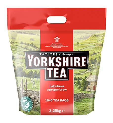 Taylors of Harrogate Yorkshire Tea 1040 Tea Bags 3,25kg