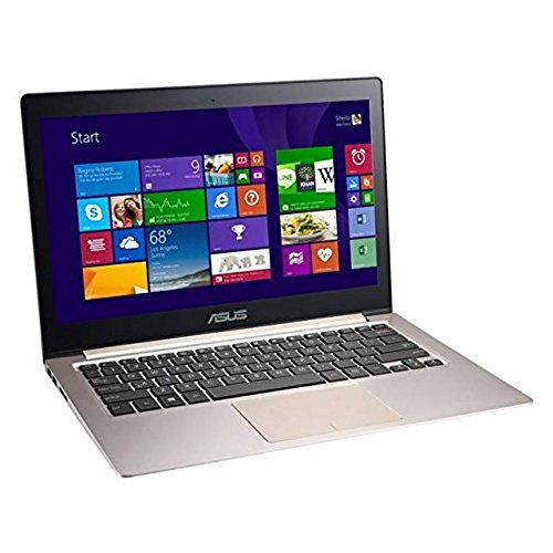 ASUS Zenbook 13 Pouces QHD Plus 1800P écran Tactile Laptop, i5-5200U, 8 GB RAM 256 GB SSD Windows 8.1