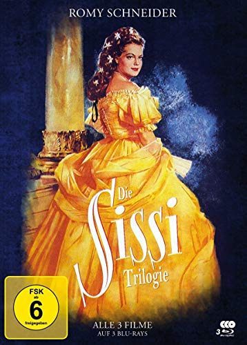 Sissi Trilogie - Special Edition Mediabook [Blu-ray]