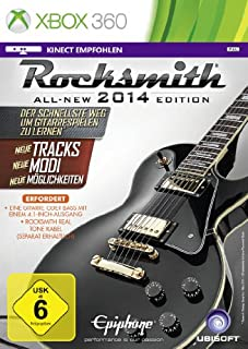 Rocksmith 2014 (ohne Kabel) [German Version] (B00DB6ZNUM) | Amazon price tracker / tracking, Amazon price history charts, Amazon price watches, Amazon price drop alerts