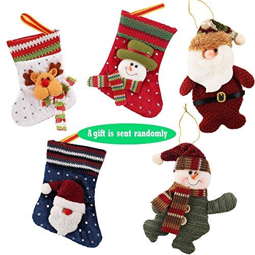 CRAVOG Damen Weihnachtsmuster Rundhals Langarm Kleid Swing Weihnachts Stil  Shirt Kleid Stretch Neu Zaun und Weihnachtsmann