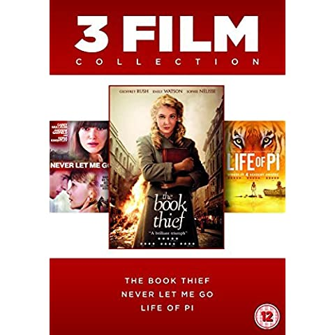 The Book Thief / Life Of Pi / Never Let Me Go - 3 Film Collection