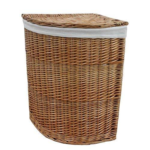 Wäschekorb aus Weide, naturfarben, Large
